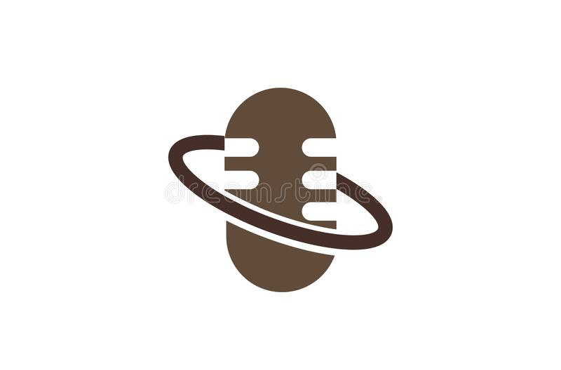 Логотип планеты радио бесплатная иллюстрация