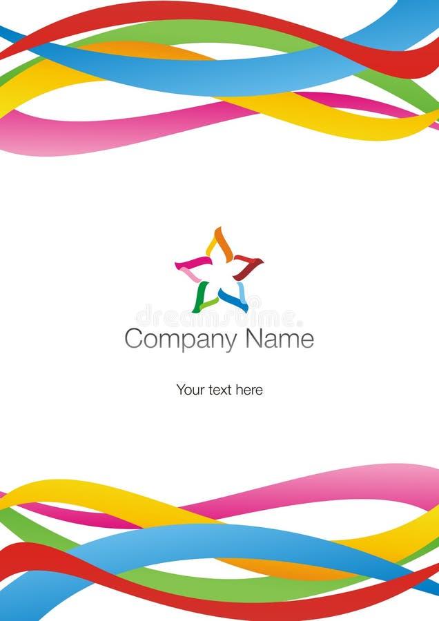 логотип предпосылки бесплатная иллюстрация