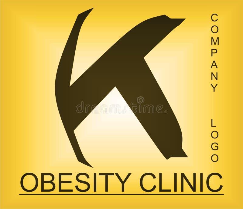 Логотип проблемы тучности алфавитный для компании обеспечивая решения стоковые изображения rf
