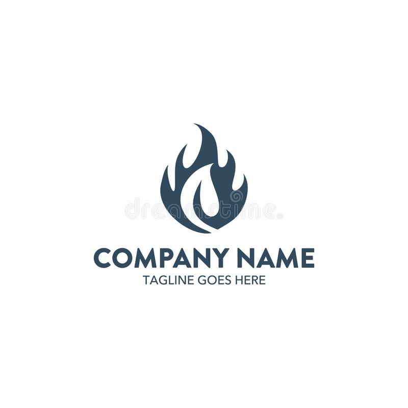 Логотип пламени бесплатная иллюстрация