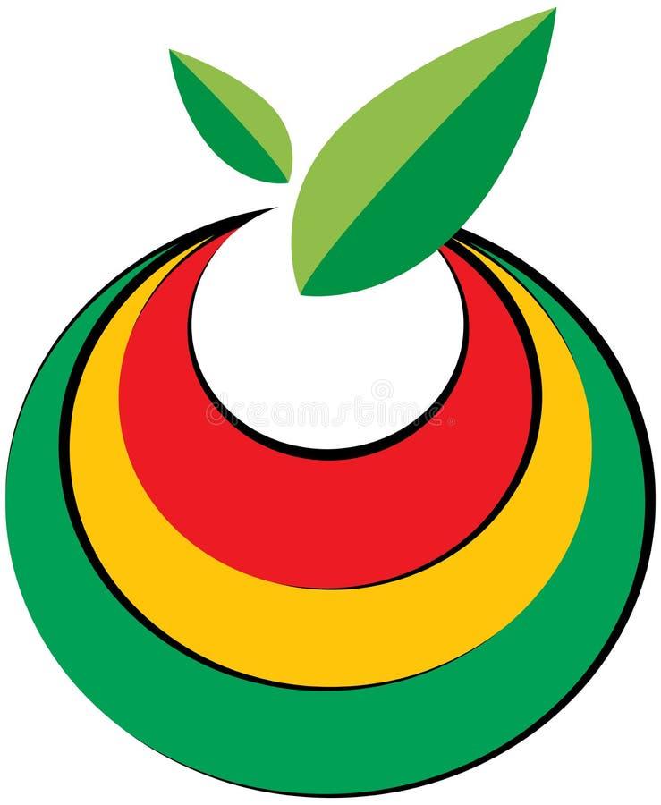 Логотип плодоовощ бесплатная иллюстрация