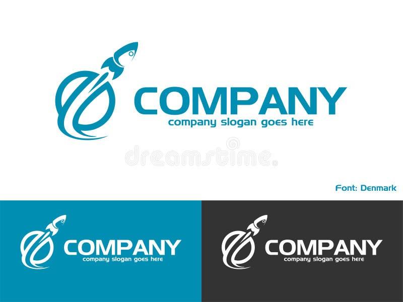 Логотип Ракеты стоковые фотографии rf