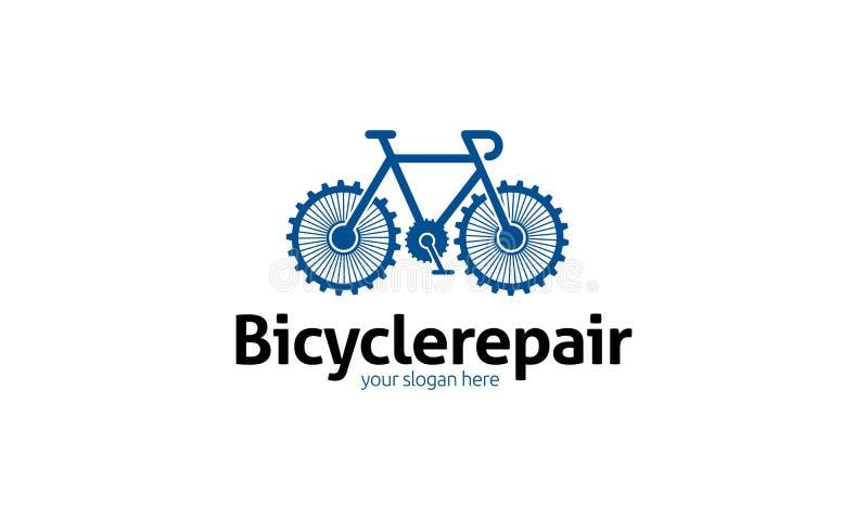 Логотип ремонта велосипеда бесплатная иллюстрация