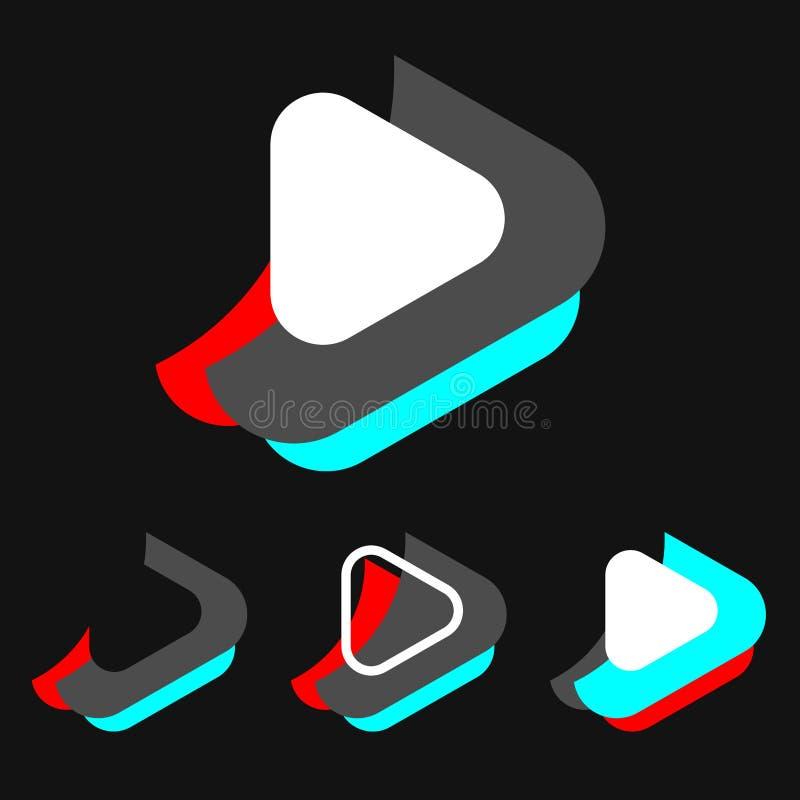 Логотип сети Игра иллюстрация вектора
