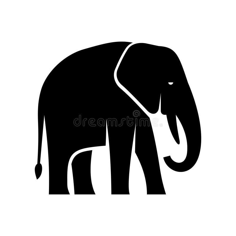 Логотип слона иллюстрация вектора
