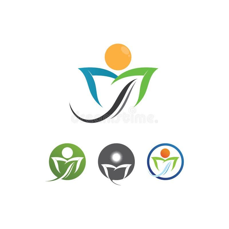 Логотип сообщества Care People Icons В Окружной Векторной Концепции Взаимодействие иллюстрация штока