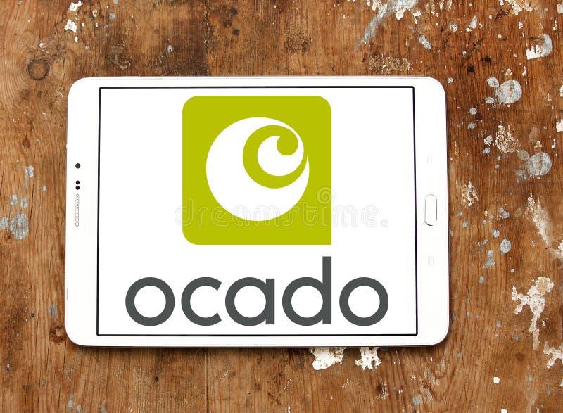 Логотип супермаркета Ocado онлайн стоковые фотографии rf
