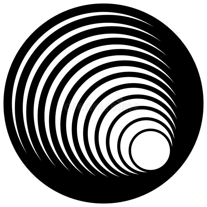 Download Логотип, форма с 3 кругами - спираль значка, логотип вортекса Иллюстрация вектора - иллюстрации насчитывающей излучать, свободно: 81813825