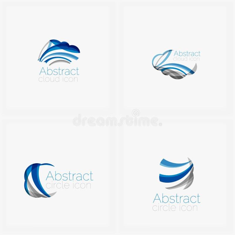 Логотип формы круга абстрактный иллюстрация штока