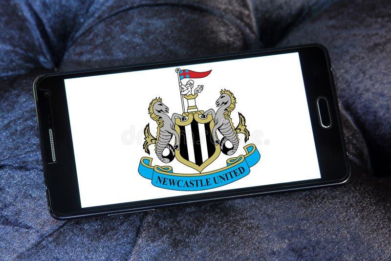 Логотип футбольного клуба Newcastle United стоковое фото