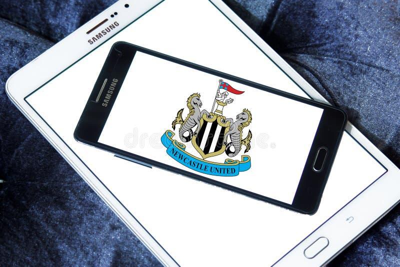 Логотип футбольного клуба Newcastle United стоковое изображение