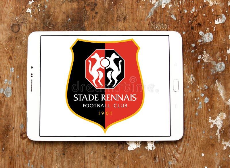 Логотип футбольного клуба Stade Rennais иллюстрация штока