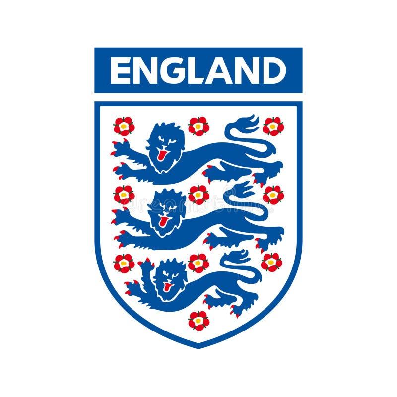 Логотип футбольной команды соотечественника Англии бесплатная иллюстрация