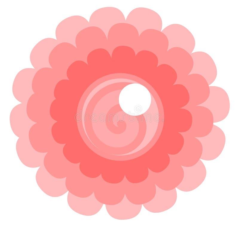 Логотип цветка бесплатная иллюстрация