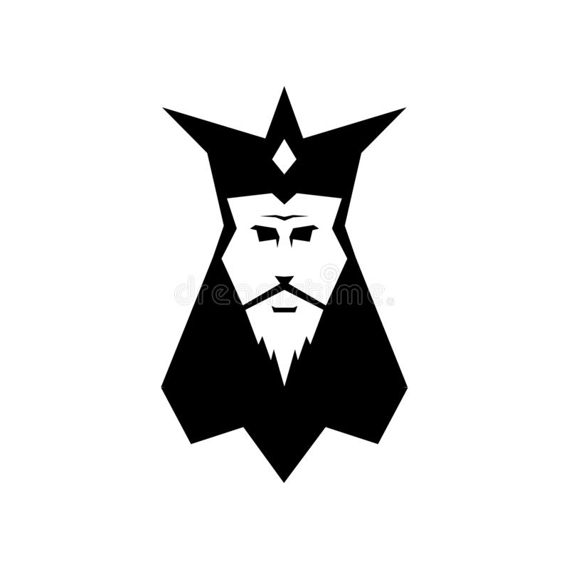 Логотип человека короля бесплатная иллюстрация