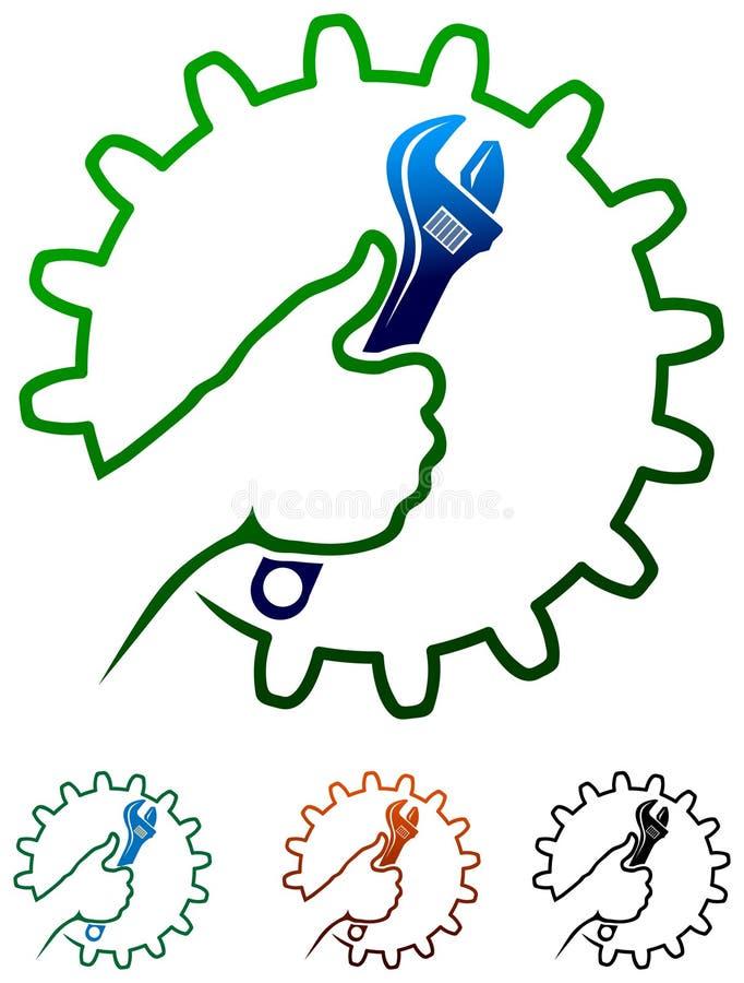 Логотип человека ремесел бесплатная иллюстрация