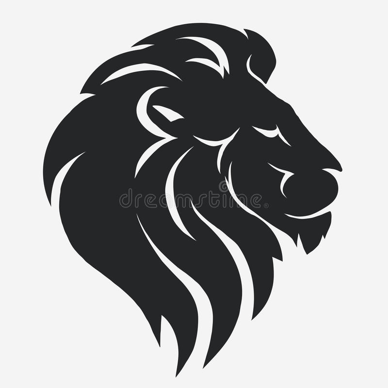Логотип льва вектор иллюстрация штока