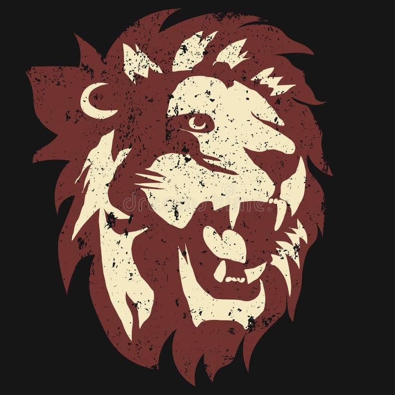 Логотип льва вектор иллюстрация вектора