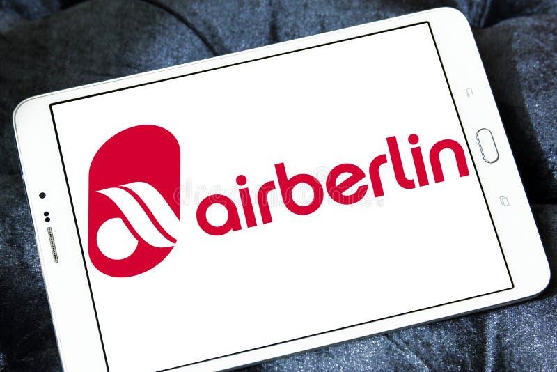 Логотип Air Berlin стоковое фото rf
