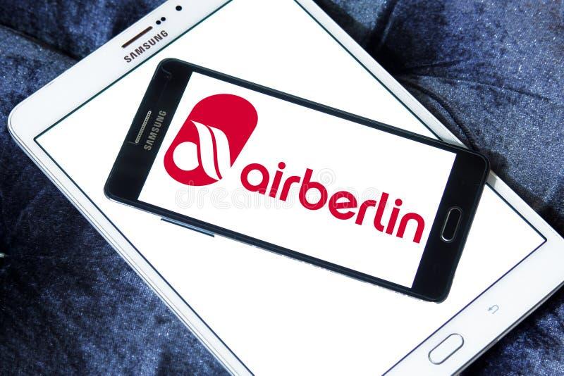 Логотип Air Berlin стоковые изображения rf