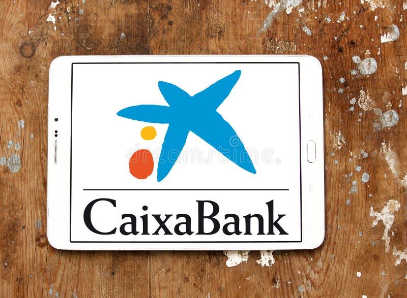 Логотип CaixaBank стоковое изображение rf