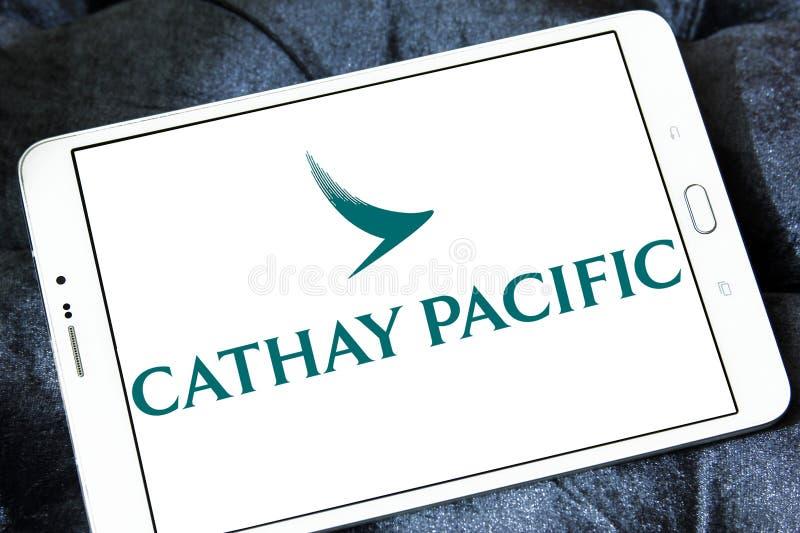 Логотип Cathay Pacific Airways стоковое фото rf
