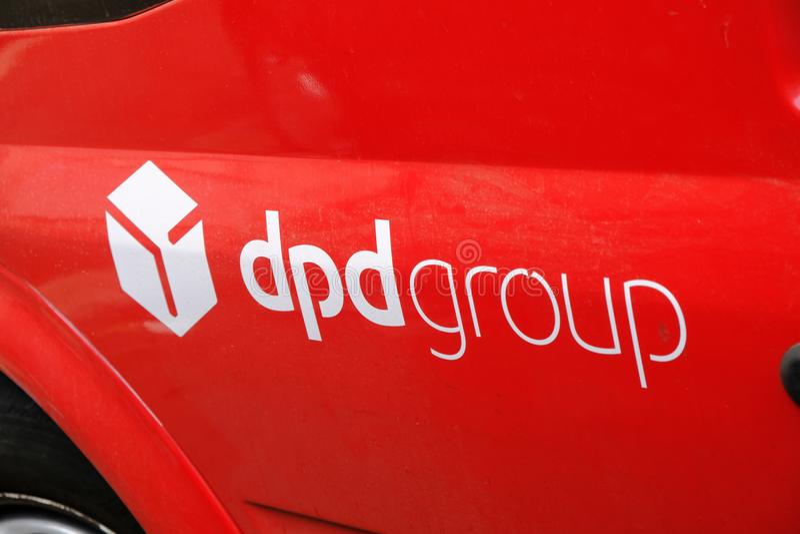 Логотип DPD стоковое фото