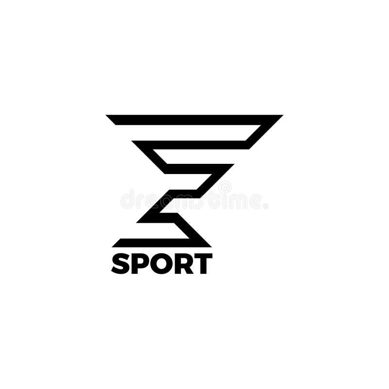 Логотип e Дизайн письма e Вензель e бесплатная иллюстрация