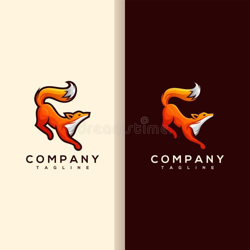 Логотип Fox иллюстрация вектора