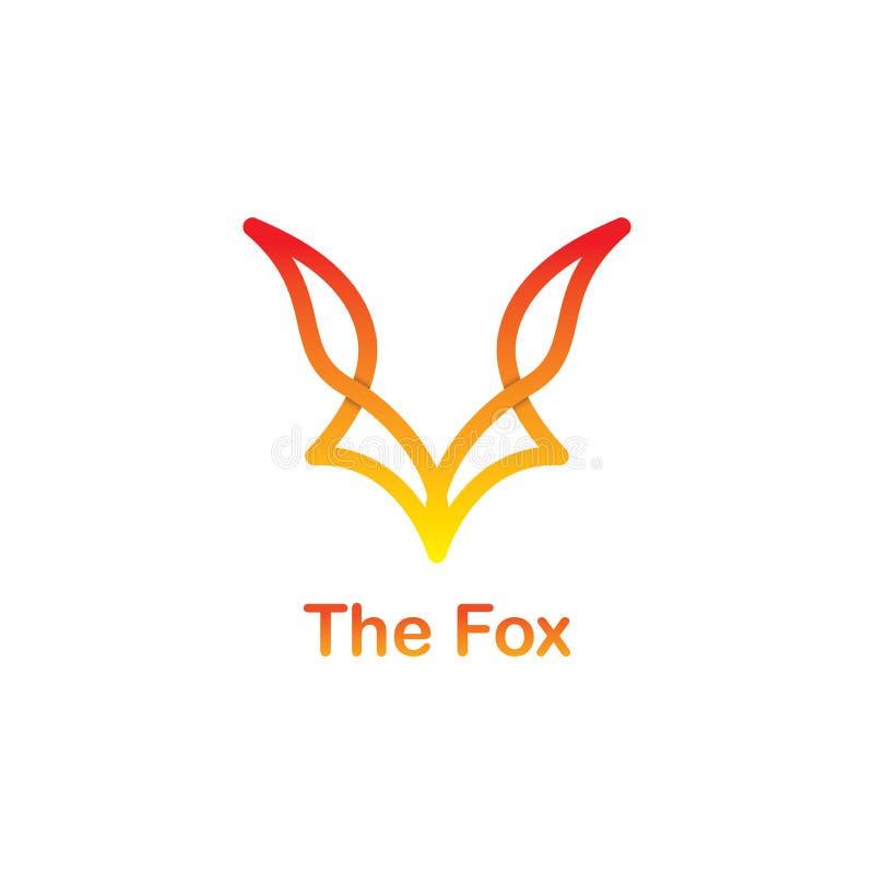 Логотип Fox стоковое фото