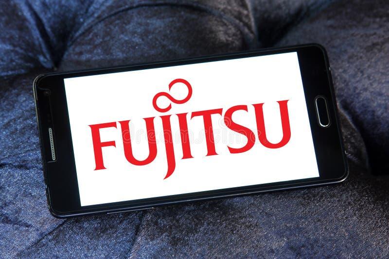 Логотип Fujitsu Limited стоковые фото