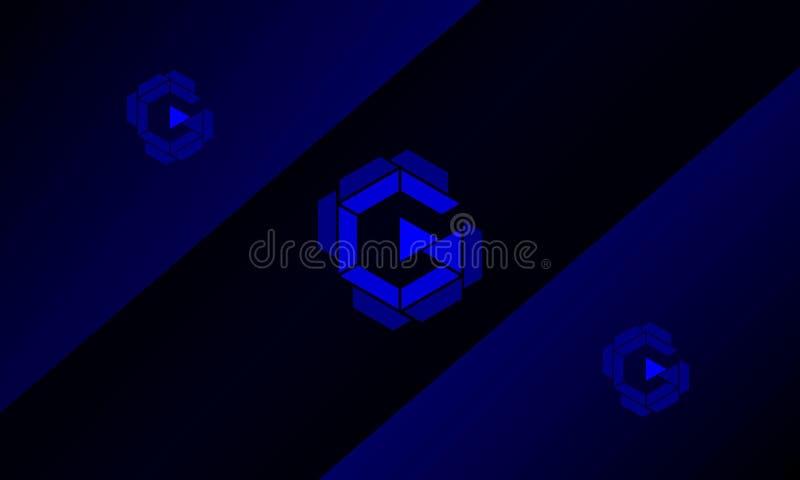 Логотип g стоковая фотография rf