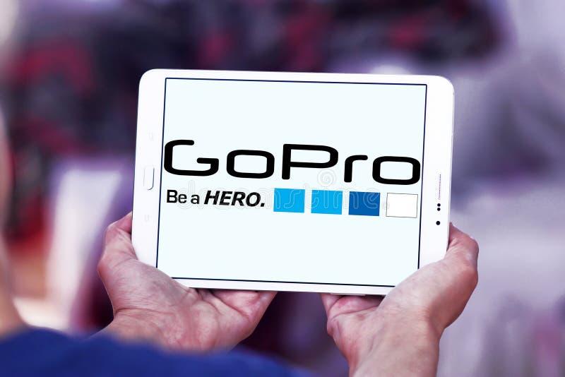 Логотип Gopro стоковая фотография