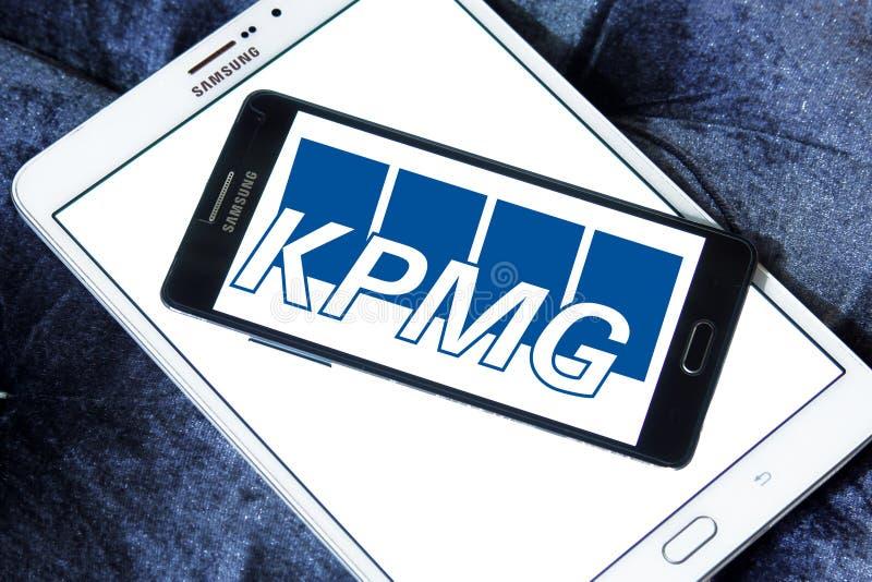 Логотип Kpmg стоковая фотография