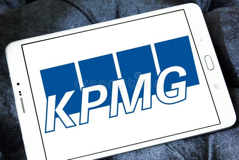 Логотип Kpmg стоковые фотографии rf