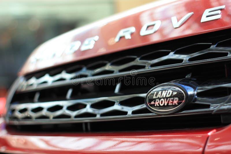 Логотип Land Rover стоковое изображение rf