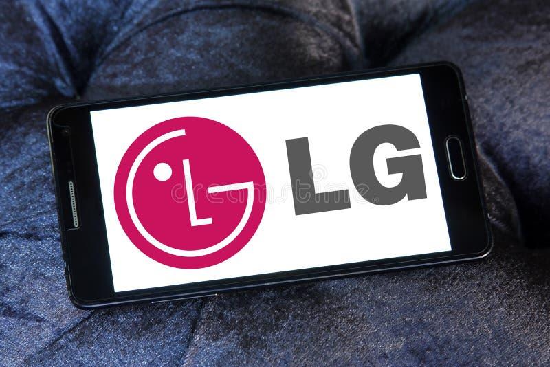 Логотип Lg стоковое изображение rf