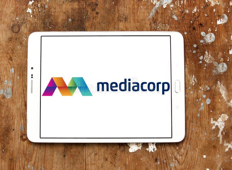 Логотип Mediacorp стоковая фотография