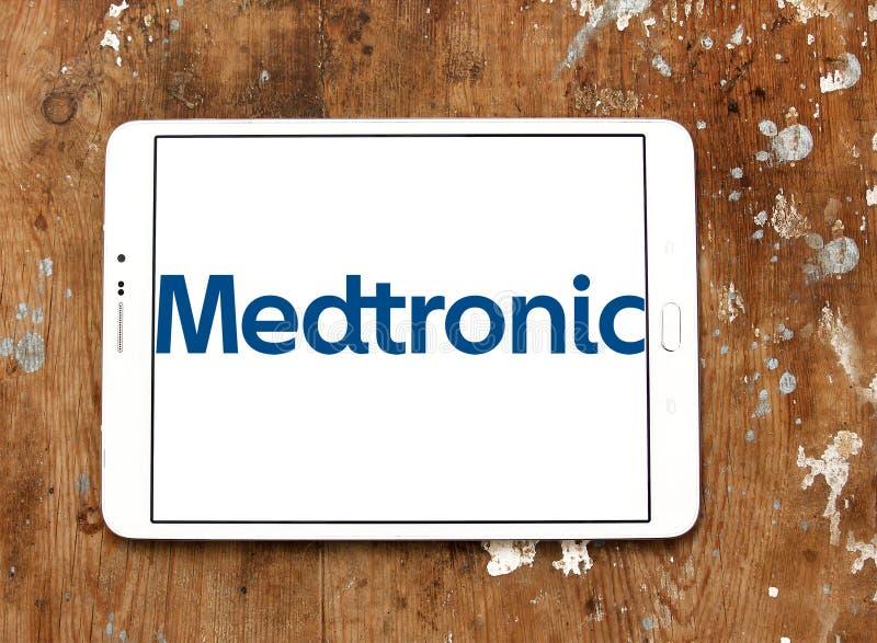 Логотип Medtronic Публики Ограниченн Компании стоковое изображение