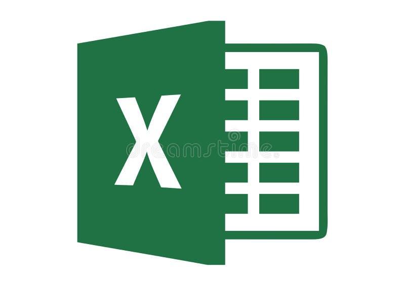Логотип 2013 Microsoft Excel бесплатная иллюстрация