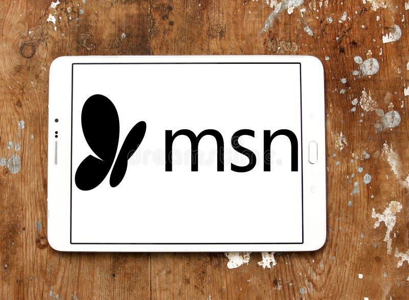 Логотип Msn стоковое изображение