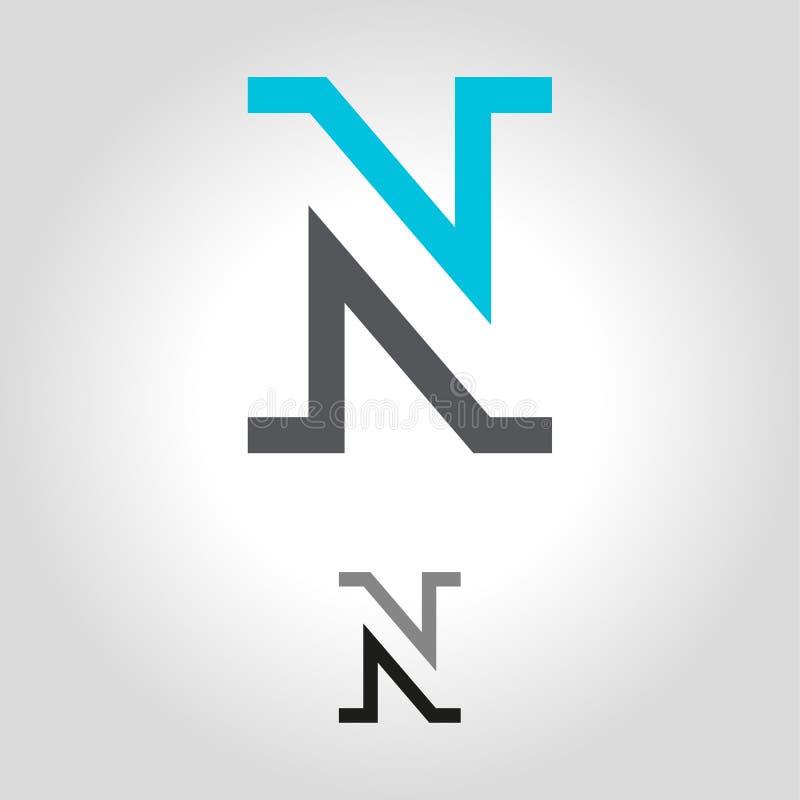 Логотип n бесплатная иллюстрация