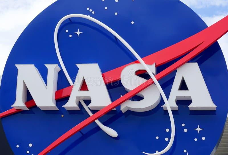 Логотип NASA стоковое изображение