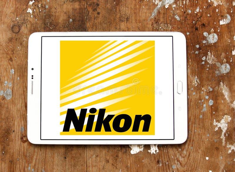 Логотип Nikon стоковое изображение rf