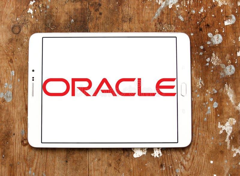 Логотип Oracle стоковые фото
