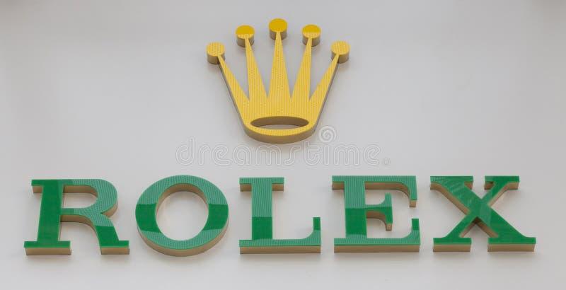 Логотип Rolex стоковые изображения rf