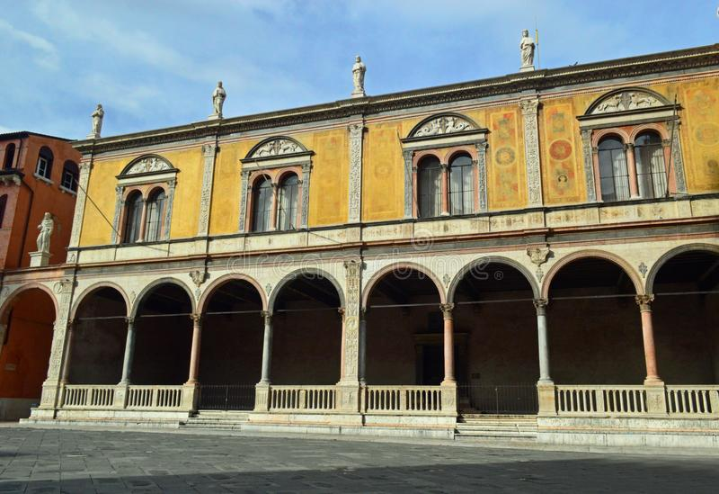 Лоджия del Консиглио на Signori Вероне dei аркады - 3 стоковые изображения rf
