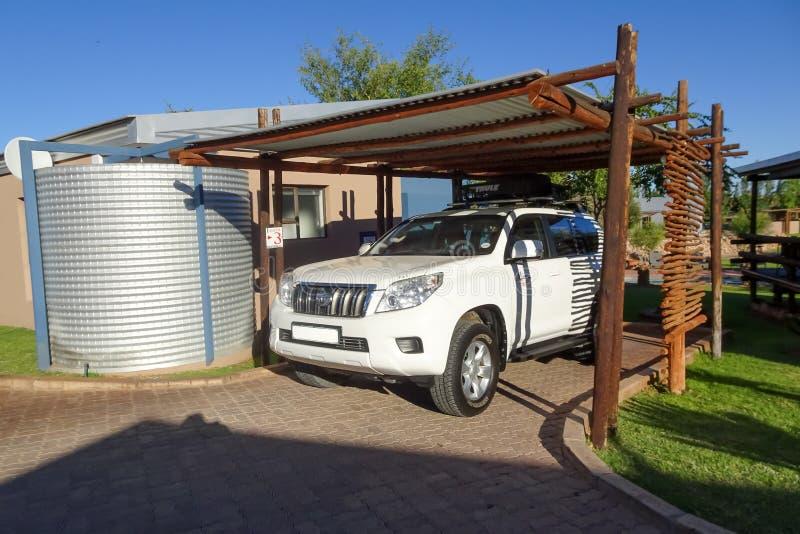 Ложа 17/01/2019 Tshahitsi, Upington Южная Африка стоковые фотографии rf