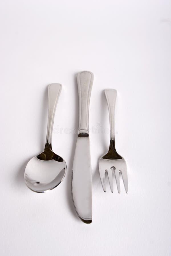 ложка ножа вилки стоковые изображения