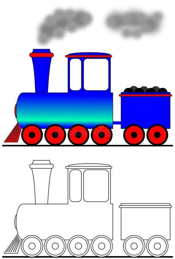 локомотивный пар бесплатная иллюстрация